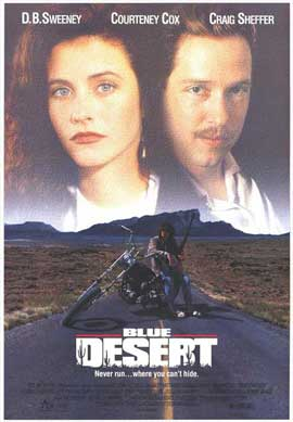 Blue Desert - 11 x 17 Movie Poster - Style A