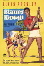 Blue Hawaii - 27 x 40 Movie Poster - German Style A