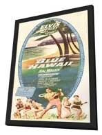 Blue Hawaii - 14 x 36 Movie Poster - Insert Style A - in Deluxe Wood Frame