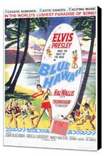 Blue Hawaii - 11 x 17 Movie Poster - Style A - Museum Wrapped Canvas