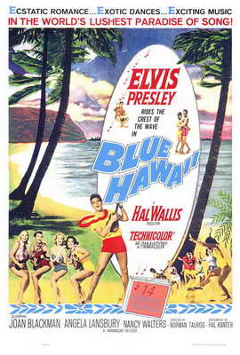 Blue Hawaii - 27 x 40 Movie Poster