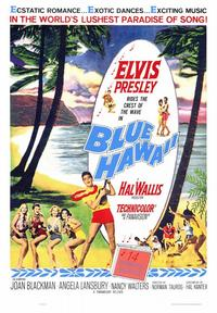 Blue Hawaii - 43 x 62 Movie Poster - Bus Shelter Style A