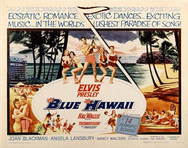 Blue Hawaii - 22 x 28 Movie Poster - Half Sheet Style A