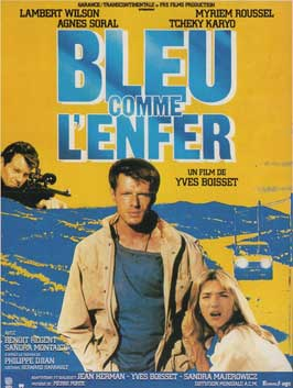 Blue Hell - 11 x 17 Movie Poster - French Style A