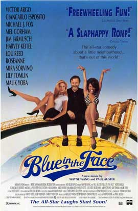 Blue in the Face - 11 x 17 Movie Poster - Style A