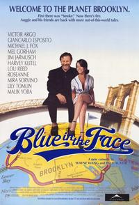 Blue in the Face - 11 x 17 Movie Poster - Style B