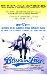 Blue in the Face - 11 x 17 Movie Poster - Style C