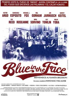 Blue in the Face - 11 x 17 Movie Poster - Spanish Style A