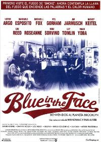 Blue in the Face - 27 x 40 Movie Poster - Spanish Style A