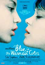 """Blue is the Warmest Color"" Movie Poster"