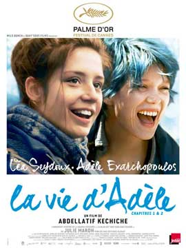 Blue is the Warmest Color - 27 x 40 Movie Poster - French Style A