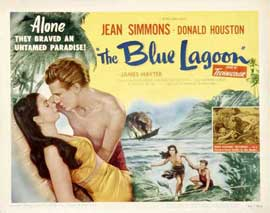 Blue Lagoon - 22 x 28 Movie Poster - Half Sheet Style A