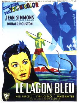 Blue Lagoon - 11 x 17 Movie Poster - French Style A