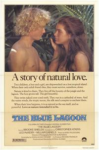 The Blue Lagoon - 43 x 62 Movie Poster - Bus Shelter Style A