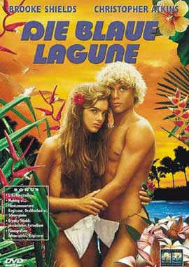 The Blue Lagoon - 11 x 17 Movie Poster - German Style A