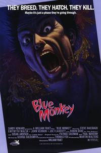Blue Monkey - 11 x 17 Movie Poster - Style A