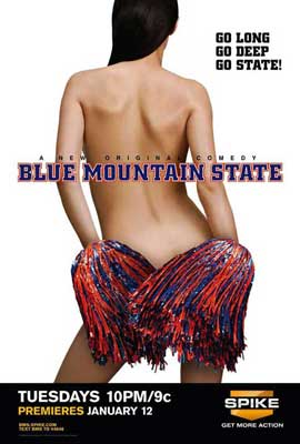 Blue Mountain State (TV) - 11 x 17 TV Poster - Style B