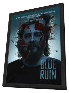 Blue Ruin - 11 x 17 Movie Poster - Style A - in Deluxe Wood Frame