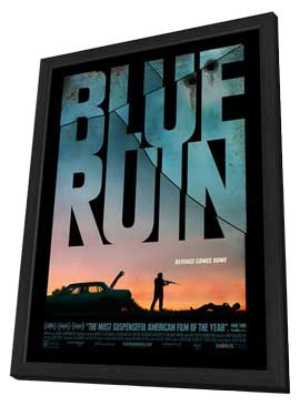 Blue Ruin - 11 x 17 Movie Poster - Style B - in Deluxe Wood Frame
