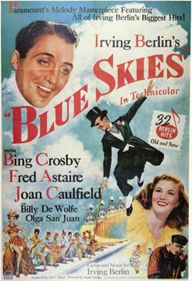 Blue Skies - 11 x 17 Movie Poster - Style A