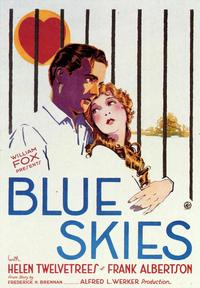 Blue Skies - 27 x 40 Movie Poster - Style B