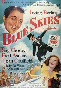Blue Skies - 43 x 62 Movie Poster - Bus Shelter Style A