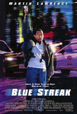 Blue Streak - 11 x 17 Movie Poster - Style A