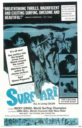Blue Surfari - 27 x 40 Movie Poster - Style A