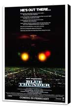 Blue Thunder - 27 x 40 Movie Poster - Style A - Museum Wrapped Canvas