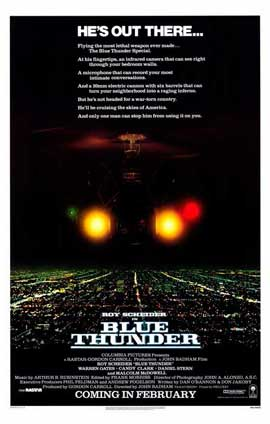 Blue Thunder - 11 x 17 Movie Poster - Style A