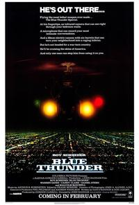 Blue Thunder - 43 x 62 Movie Poster - Bus Shelter Style A