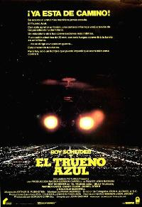 Blue Thunder - 11 x 17 Movie Poster - Spanish Style A