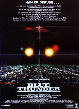 Blue Thunder - 27 x 40 Movie Poster - Danish Style A