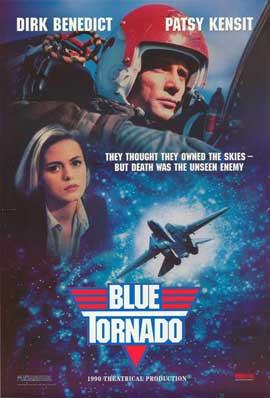 Blue Tornado - 11 x 17 Movie Poster - Style A
