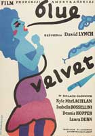 Blue Velvet - 11 x 17 Movie Poster - Polish Style A
