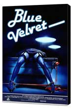 Blue Velvet - 11 x 17 Movie Poster - Style F - Museum Wrapped Canvas