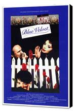 Blue Velvet - 27 x 40 Movie Poster - Style A - Museum Wrapped Canvas
