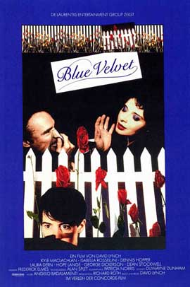 Blue Velvet - 11 x 17 Movie Poster - Style A