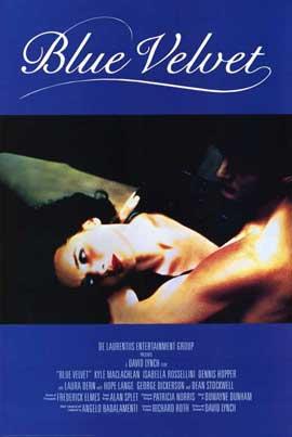 Blue Velvet - 11 x 17 Movie Poster - Style B