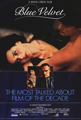 Blue Velvet - 27 x 40 Movie Poster - Style B