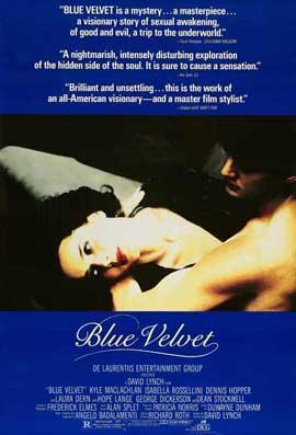 Blue Velvet - 11 x 17 Movie Poster - Style E