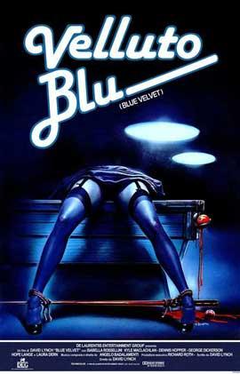 Blue Velvet - 27 x 40 Movie Poster - Italian Style A