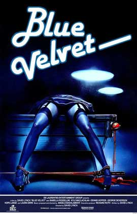 Blue Velvet - 11 x 17 Movie Poster - Style F