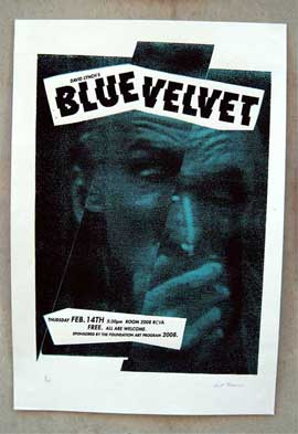Blue Velvet - 11 x 17 Movie Poster - Style C