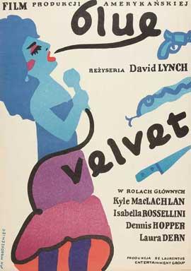 Blue Velvet - 11 x 17 Movie Poster - Polish Style A