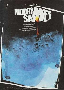 Blue Velvet - 11 x 17 Movie Poster - Czchecoslovakian Style A