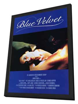 Blue Velvet - 11 x 17 Movie Poster - Style B - in Deluxe Wood Frame
