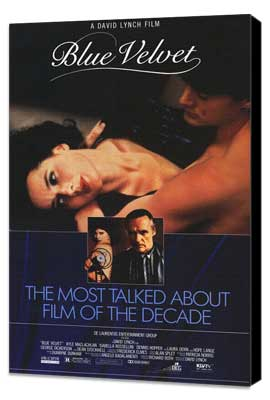 Blue Velvet - 27 x 40 Movie Poster - Style B - Museum Wrapped Canvas