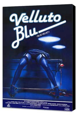 Blue Velvet - 27 x 40 Movie Poster - Style C - Museum Wrapped Canvas