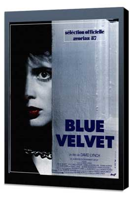 Blue Velvet - 27 x 40 Movie Poster - Style D - Museum Wrapped Canvas